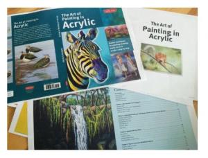 Book Release Art Of Painting In Acrylic